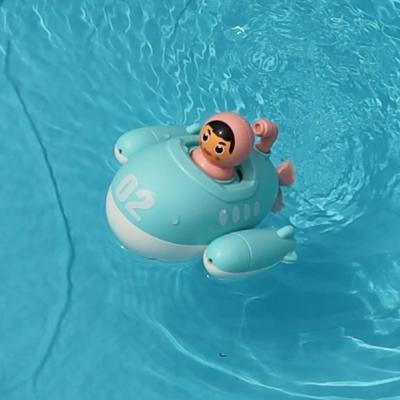 레츠토이 마린보이 잠수함 물총 유아 목욕놀이 장난감