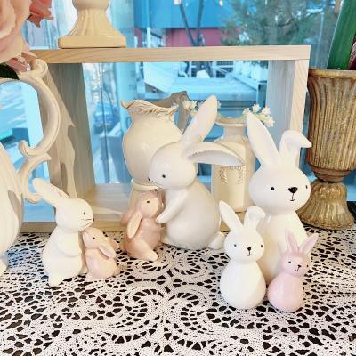 하트 뿅뿅 토끼 인형 3 types_옵션 1