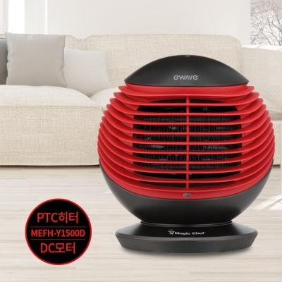 매직쉐프 저소음 전기온풍기 PTC히터방식 Y1500D