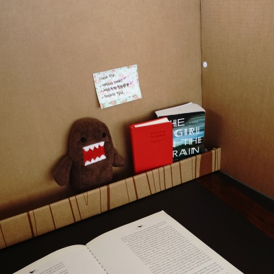공부집중 칸막이 (하단선반형)
