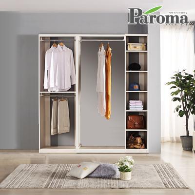 파로마 라라 드레스룸 일자형 3칸A형 (1800x400)