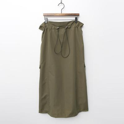 Army Pocket Long Skirt