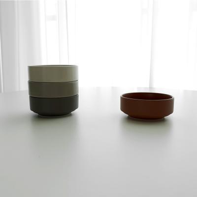 포홈 모던무광 찬기2호 그릇 (4color)