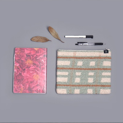 트와이닝 파우치 - 코바늘 키트 여름 가방 뜨개질