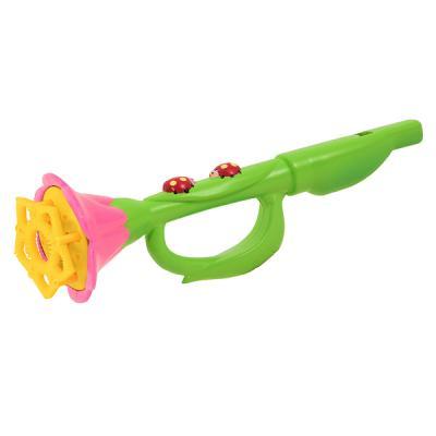꽃 트럼펫 비누방울