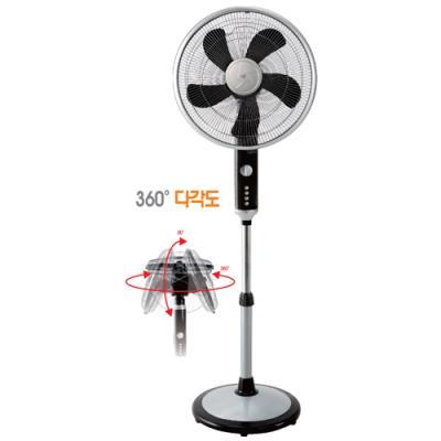 사파이어선풍기 HJ-1636/스탠드형선풍기/에너지소비효율4등급/360도회전