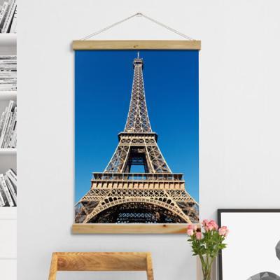 cc403-우드스크롤_60CmX90Cm-에펠탑