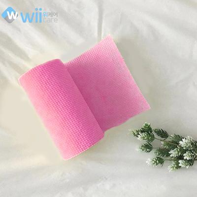 위케어일회용향균수세미_핑크50매1+1