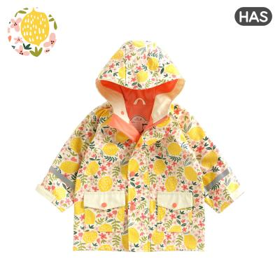 [HAS] 아동 레인코트 (레몬플라워)