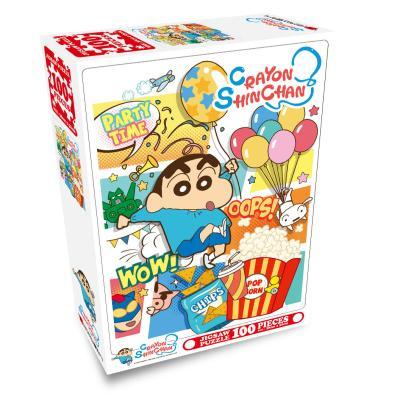 짱구 직소퍼즐 100pcs 팝콘