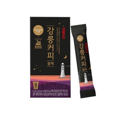 서울우유 강릉커피 블랙 1.2gx8개입 보헤미안로스터즈