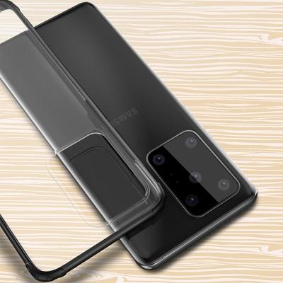 갤럭시s10e s10 10 슬림핏 컬러 범퍼 투명 하드케이스