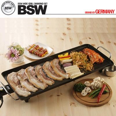 [BSW]  와이드 전기 그릴 세트 BS-1107-PA + 그릴가방