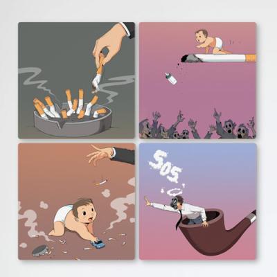 if485-멀티액자_나뿐만아니라가족도해치는담배