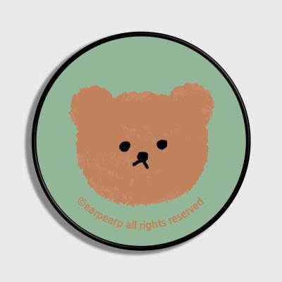 Dot big bear-pastel mint(스마트톡)