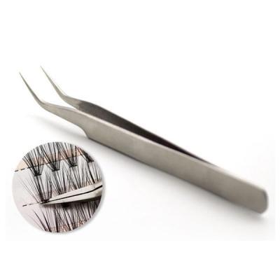 핀셋 속눈썹연장 도구 정핀 ㄱ자 핀셋