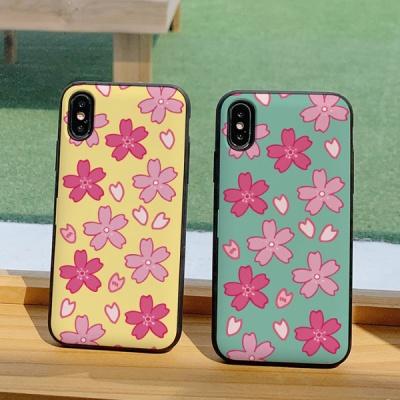 아이폰8플러스 써니 벚꽃 카드케이스