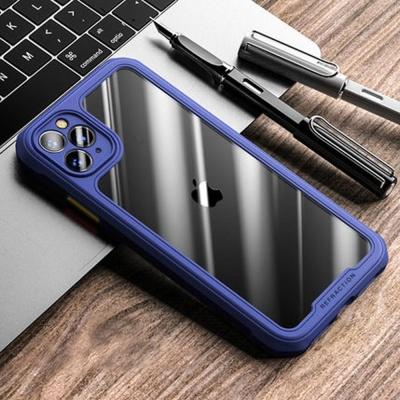 아이폰XR XS MAX 컬러 사각 에어백 범퍼 투명 케이스