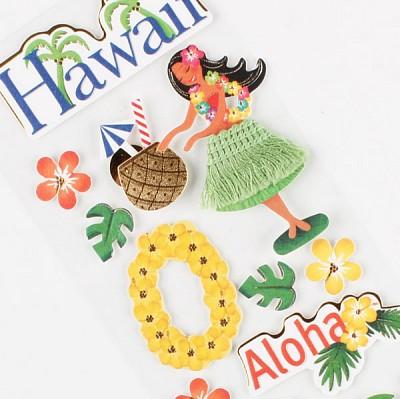 018-ss-0019 / 나라스티커 (하와이)