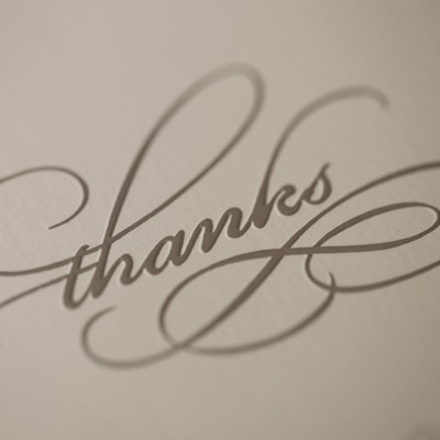 디비디 심플 카드 - Thank you