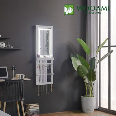 [우아미] 퍼블릭 LED 터치 악세서리 벽걸이 전신 거울