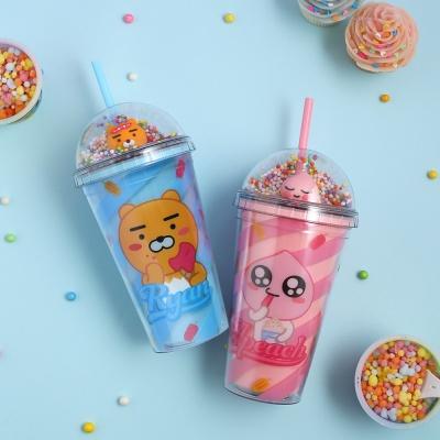 카카오프렌즈 아이스크림 아이스텀블러