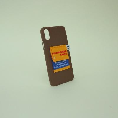 [주문제작]SUN CASE LABEL CHOCO BROWN