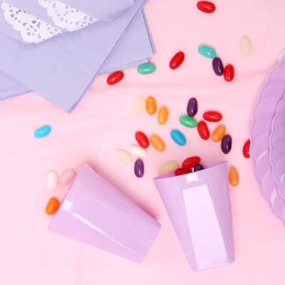 파티테이블셋팅패키지(6인용)- 핑크&라일락
