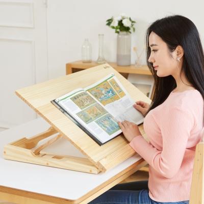 각도조절 보조책상 800 소나무+보관가방 필기 독서대