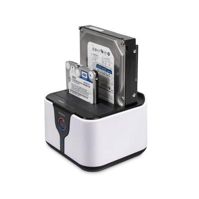 2베이 HDD 도킹 스테이션 / 원터치 복제 DM-7000DUAL