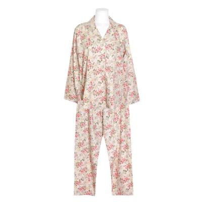 [쿠비카]플라워 모달 코튼 투피스 여성잠옷 W699