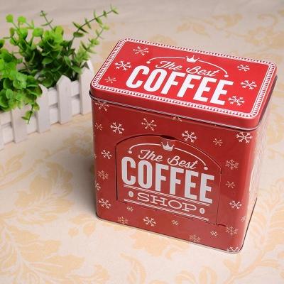 레트로감성 커피캡슐보관함 오픈형케이지 6종세트