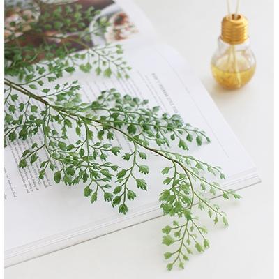 [콩지] 프렌치 그린넝쿨 부쉬 조화