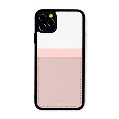 스매스 아이폰11프로 맥스 보호 카드케이스 씨원 리버스_핑크