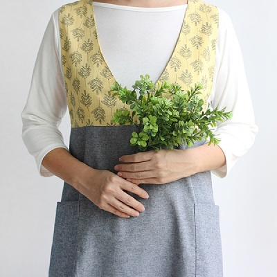 [CONZ] 안개트리 숄더 앞치마