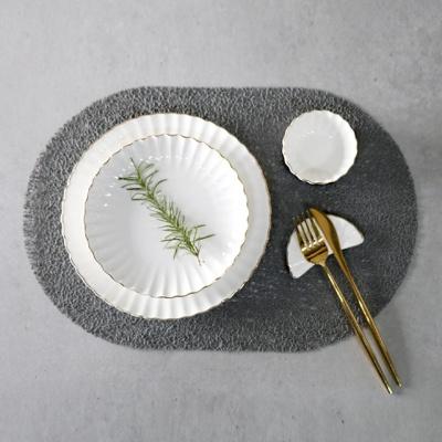 베르겐 타원형 테이블 매트 4colors