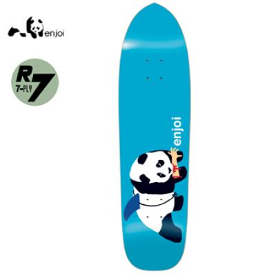 [enjoi] PANDA SHARK BLUE R7 DECK 8.5