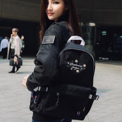 [로아드로아]ROIDESROIS - MUGUNGHWA BACKPACK (BLACK) 가방 백팩 무궁화백팩