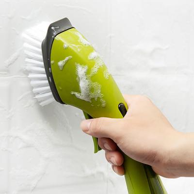 욕실 주방 바닥타일청소 디스펜서 세제 브러쉬 LB10