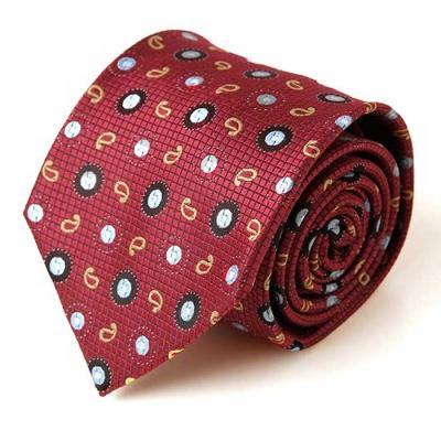 Hombre rojo Paisley 패턴 수동 넥타이 CH1623665