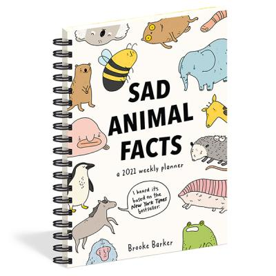 2021년 플래너 Sad Animal Facts