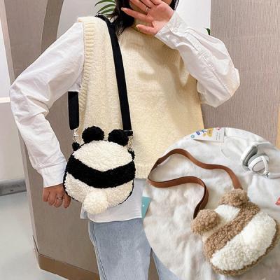 뎅뎅 귀여운 뽀글이 크로스백 캐주얼가방