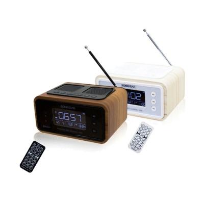 소닉기어 레트로 클래식 올인원 블루투스 스피커 NEO1000 (상단스피커 360도 사운드 / FM라디오 / 무선리모컨)