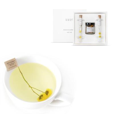 [꽃을담다]미니꽃차&티스틱세트+쇼핑백