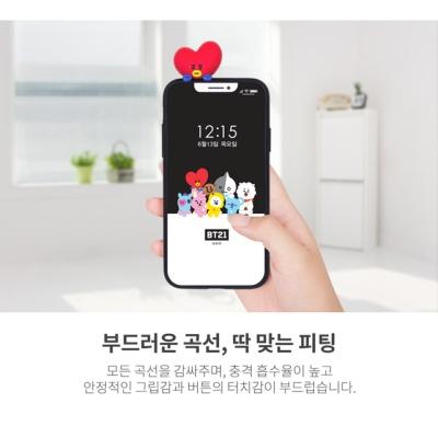 BT21 빼꼼케이스 타타 쿠키 알제이 치미