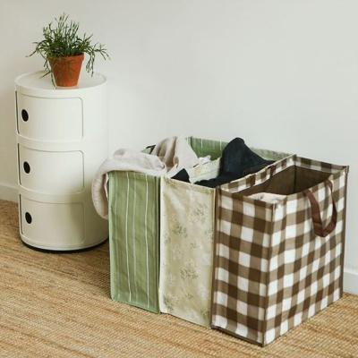 다용도 수납 보관 가방세트 가정 재활용 수거 정리함