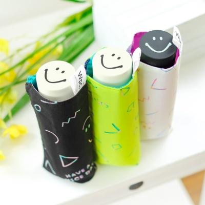 wpc우산 스마일리 미니 5단 양산 겸 우산 SM09-190
