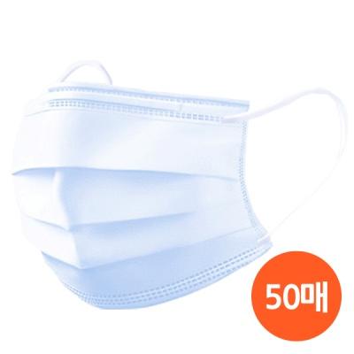 일회용 덴탈 마스크 3중필터 50매/ 개별포장