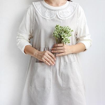 [CONZ] 라떼 소녀 숄더 앞치마