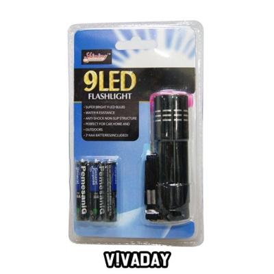 IS LED 9구 손전등후레쉬